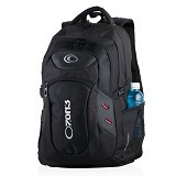 OZONE BAG Ransel Laptop 122 Evolution - Hitam - Notebook Backpack