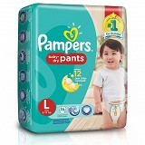 PAMPERS Baby Dry Pants L-16S - Disposable Diapers / Popok Sekali Pakai