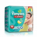 PAMPERS Baby Dry Pants M-18S - Disposable Diapers / Popok Sekali Pakai