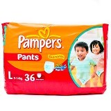 PAMPERS Ekonomis Pants L36 - Disposable Diapers / Popok Sekali Pakai