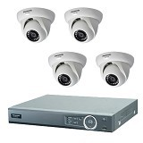 PANASONIC CCTV AHD DVR + 4 HD Indoor Camera (Merchant) - Cctv Camera
