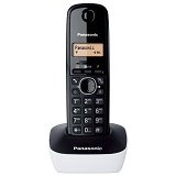PANASONIC Cordless Phone [KX-TG1611] - Black White - Wireless Phone