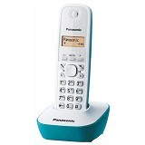 PANASONIC Cordless Phone [KX-TG1611] - White/Tosca - Wireless Phone