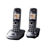PANASONIC Cordless Phone [KX-TG2522] - Silver - Wireless Phone