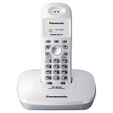 PANASONIC Cordless Phone [KX-TG3600] - Silver - Wireless Phone