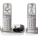 PANASONIC Cordless Phones [KX-TGD222] - Silver - Wireless Phone