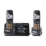 PANASONIC Cordless Telephone Wireless [KX-TG9322] - Black - Wireless Phone