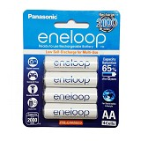 PANASONIC Eneloop AA 2000mAh BP4 - Battery and Rechargeable