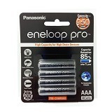 PANASONIC Eneloop Pro AAA 950mAh BP4 - Black (Merchant) - Battery and Rechargeable
