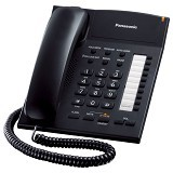PANASONIC Integrated Telephone System [KX-TS845ND] - Black - Corded Phone
