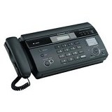 PANASONIC KX-FT987CX - Black - Mesin Fax Kertas Thermal