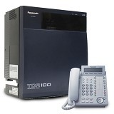 PANASONIC KX-TDA100D + DT333 Kap 8.0 line 44 ext - Ip Phone