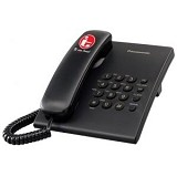 PANASONIC KX-TS505MXB - Black - Corded Phone