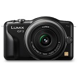 PANASONIC LUMIX DMC-GF3CGC - Black - Camera Mirrorless