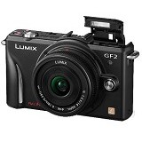 PANASONIC Lumix DMC-GF2C - Black (Merchant) - Camera Mirrorless