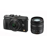 PANASONIC Lumix DMC-GX1WGC - Black - Camera Mirrorless