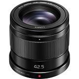 PANASONIC Lumix G 42.5mm f/1.7 ASPH POWER O.I.S. Lens [H‐HS043E‐K]