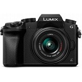 PANASONIC Lumix G Compact System Camera [DMC-G7K] - Black - Camera Mirrorless