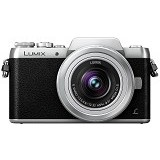 PANASONIC Lumix G Mirrorless Camera [DMC-GF8] - Silver - Camera Mirrorless