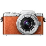 PANASONIC Lumix G Mirrorless Camera [DMC-GF8] - Brown - Camera Mirrorless
