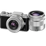 PANASONIC Lumix Mirrorless DMC-GF7 Double Kit - Black - Camera Mirrorless