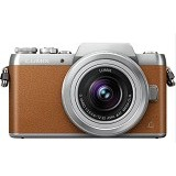 PANASONIC Lumix Mirrorless DMC-GF7K - Brown (Merchant) - Camera Mirrorless