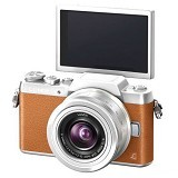 PANASONIC Lumix Mirrorless DMC-GF7KGC - Brown - Camera Mirrorless
