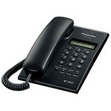 PANASONIC Single Line Telephone [KX-T7703] - Black - Corded Phone
