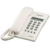 PANASONIC Single Line Telephone [KX-T7703] - White