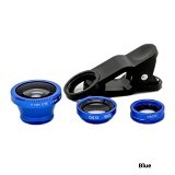 PAROPAROSHOP 3 in 1 Universal Clip Lens - Blue - Gadget Activity Device