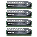 PATRIOT Memory Viper Elite Series PC 4 x 16 DDR4 PC-22400 [PVE464G280C6QKG] - Gray - Memory Desktop Ddr4