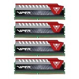 PATRIOT Memory Viper Elite Series PC 4 x 16 DDR4 PC-22400 [PVE464G280C6QKR] - Red - Memory Desktop Ddr4