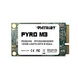 PATRIOT Pyro M3 mSATA III 120GB SSD [SF-2281] - Ssd Pci