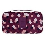 PEACHES OLSHOP Underwear Organizer Bag - Maroon (Merchant) - Container
