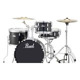 PEARL Drum Kit Roadshow Series [RS584C/C+] - Jet Black - Drum Kit