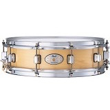 PEARL Maple Piccolo Snare Drum [M1440] - Natural - Snare Drum