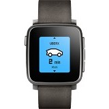 PEBBLE Time Steel - Black - Smart Watches