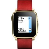 PEBBLE Time Steel - Red - Smart Watches