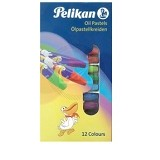 PELIKAN Oil Pastel Hexagon 12 [2266] (Merchant) - Crayon
