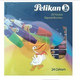 PELIKAN Oil Pastel Hexagon 24 [2266] (Merchant)