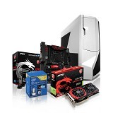PEMMZ Desktop Custom PC Diamond - Desktop Rakitan Intel Core I7