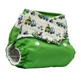 PEMPEM Velcro + Inser Litty Motif Geometri - Cloth Diapers / Popok Kain
