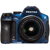 PENTAX K-30 Kit1 - Crystal Blue - Camera SLR
