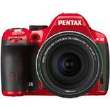 PENTAX K-30 Kit2 - Red/Black - Camera SLR