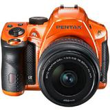 PENTAX K-30 Kit4 - Crystal Orange - Camera SLR