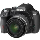PENTAX K-50 Kit1 - Black - Camera Slr