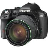 PENTAX K-50 Kit2 - Black - Camera SLR