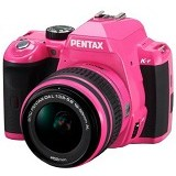 PENTAX K-R Kit - Pink Grip Black - Camera Slr
