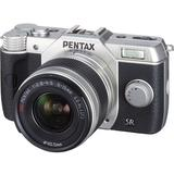PENTAX Q10 Kit1 - Silver - Camera Mirrorless