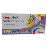 PENTEL Water Colour Htw/Wfrs 12W - Spidol Warna